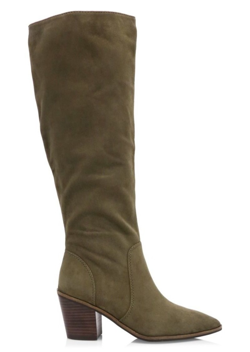 Cole Haan Willa Suede Knee-High Boots