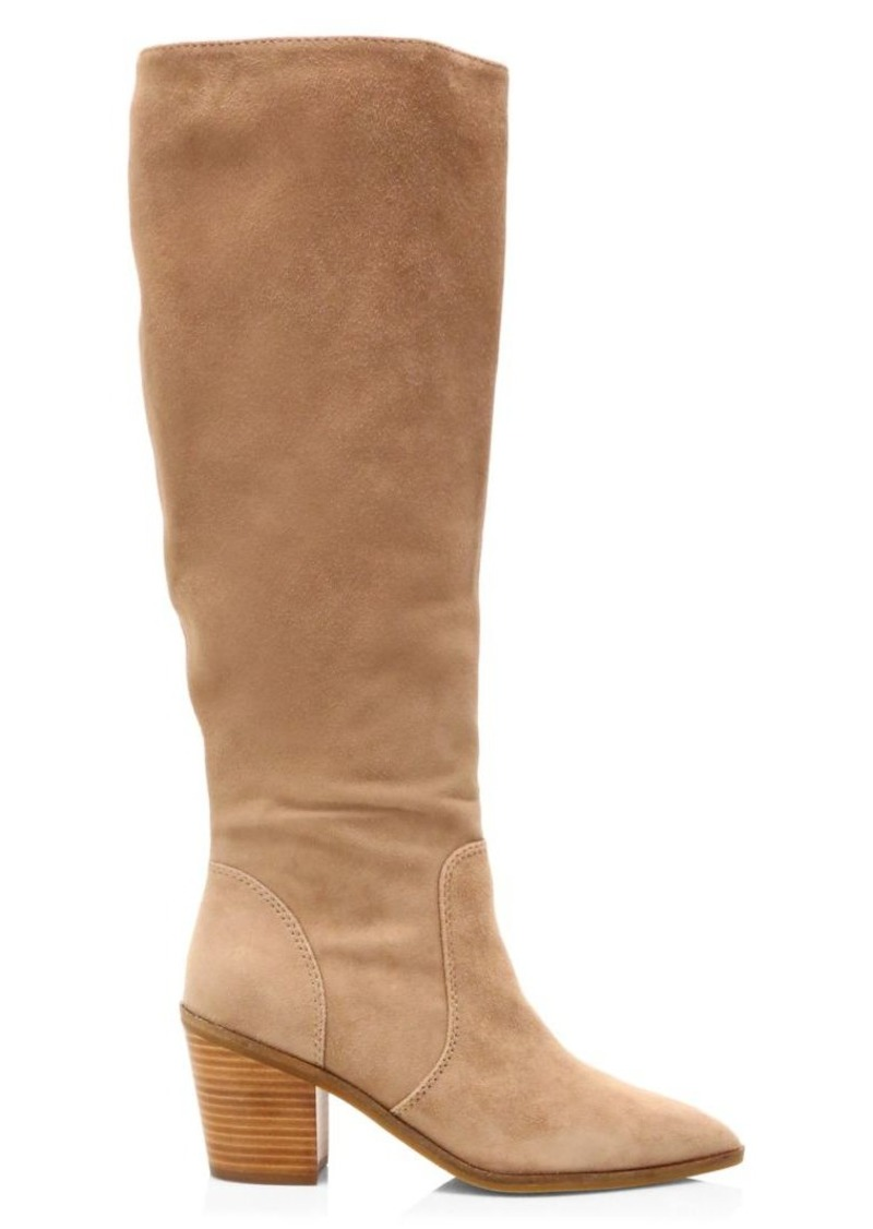Cole Haan Willa Suede Knee-High Boots