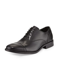Cole Haan Williams Leather Cap Toe Lace-up  Black