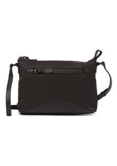 Cole Haan Zerogrand Nylon Leather-Trimmed Swingpack Shoulder Bag