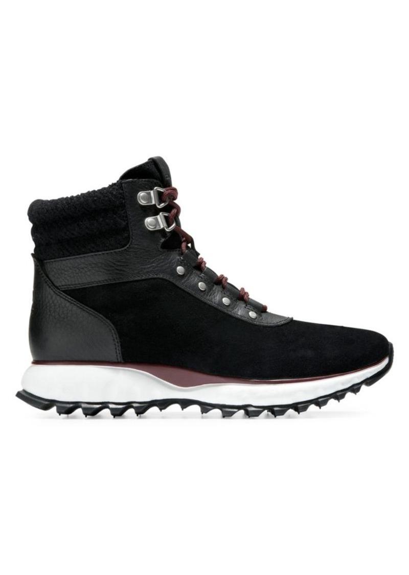 Cole Haan Zerogrand XC Suede Hiker Boots