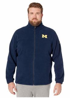 Columbia Big & Tall Michigan Wolverines CLG Flanker™ III Fleece Jacket