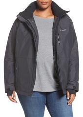 Columbia Alpine Action Waterproof Omni-Heat® Hooded Jacket (Plus Size)