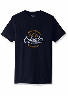 Columbia Apparel Men's Graphic T-Shirt  X Large