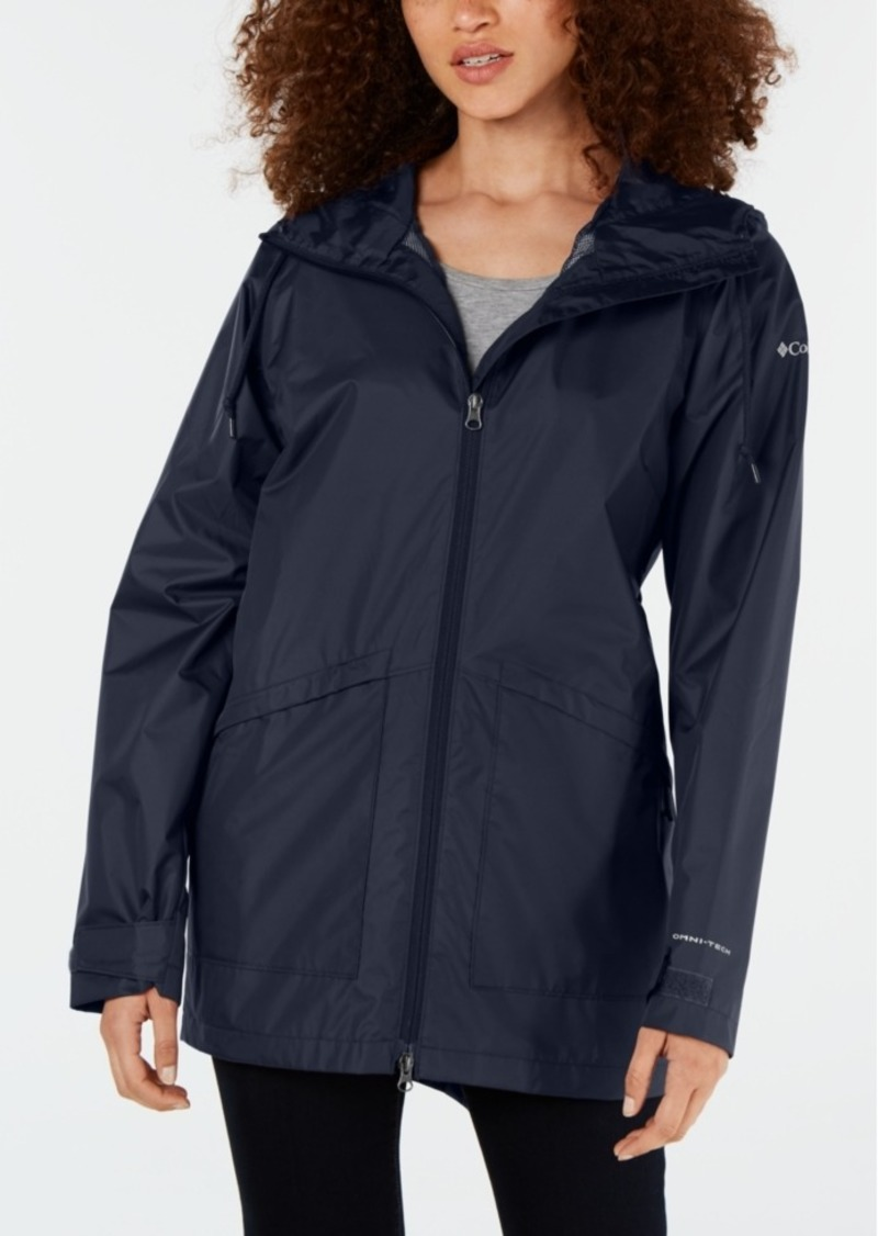 Columbia Women's Arcadia Omni-Tech Water-Repellent Hooded Jacket