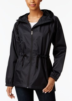 Columbia Arcadia Waterproof Cinched-Waist Raincoat