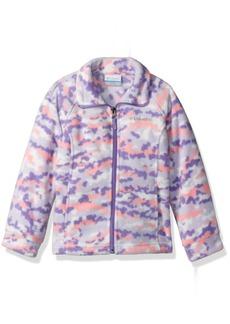 Columbia Big Girls' Benton Springs Ii Printed Fleece Jacket  L