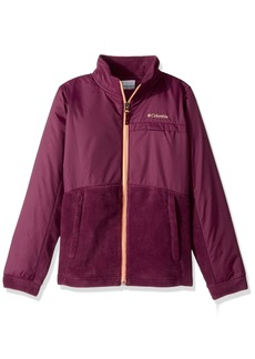 Columbia Big Girls' Benton Springs LLL Overlay Fleece Jacket