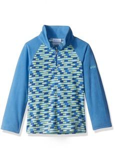 Columbia Big Girls' Glacial Ii Printed Fleece Half Zip Jacket
