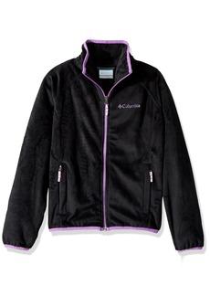 Columbia Big Girls' Pearl Plush Full Zip Jacket