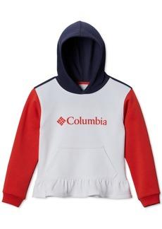 Columbia Big Girls Peplum-Hem Hoodie