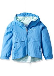 Columbia Girls' Big Rain-Zilla Waterproof Jacket