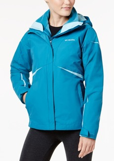 Columbia Blazing Star Waterproof Fleece-Lined Jacket