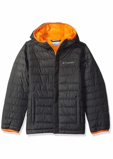 Columbia Boy's Big Powder Lite Puffer Water-Resistant Insulated Jacket