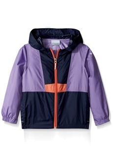 Columbia Boys' Toddler Girls' Flash Back Windbreaker Full Zip Jacket