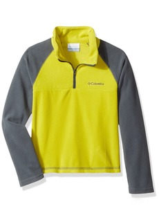 Columbia Boys' Toddler Glacial Fleece Half Zip Jacket