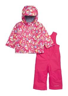Columbia Buga Waterproof Insulated Jacket & Snow Bib (Baby Girls)