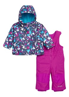 Columbia Buga Waterproof Insulated Jacket & Snow Bib (Baby Girls)