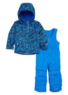 Columbia Buga Waterproof Insulated Jacket & Snow Bib Set (Toddler Boys)