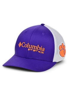 Columbia Clemson Tigers Pfg Stretch Cap