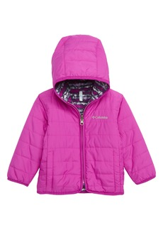 Columbia Double Trouble Reversible Water-Resistant Hooded Jacket (Baby Girls)