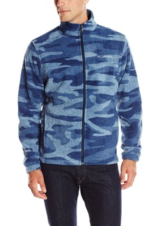 Columbia en's Steens ountain Printed Full Zip Fleece Jacket  edium