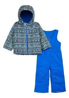 Columbia Frosty Slope Waterproof Insulated Jacket & Snow Bib Set (Toddler Boys)