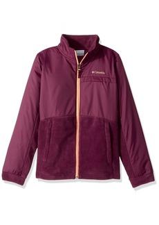 Columbia Girls' Big Benton Springs LLL Overlay Fleece Jacket