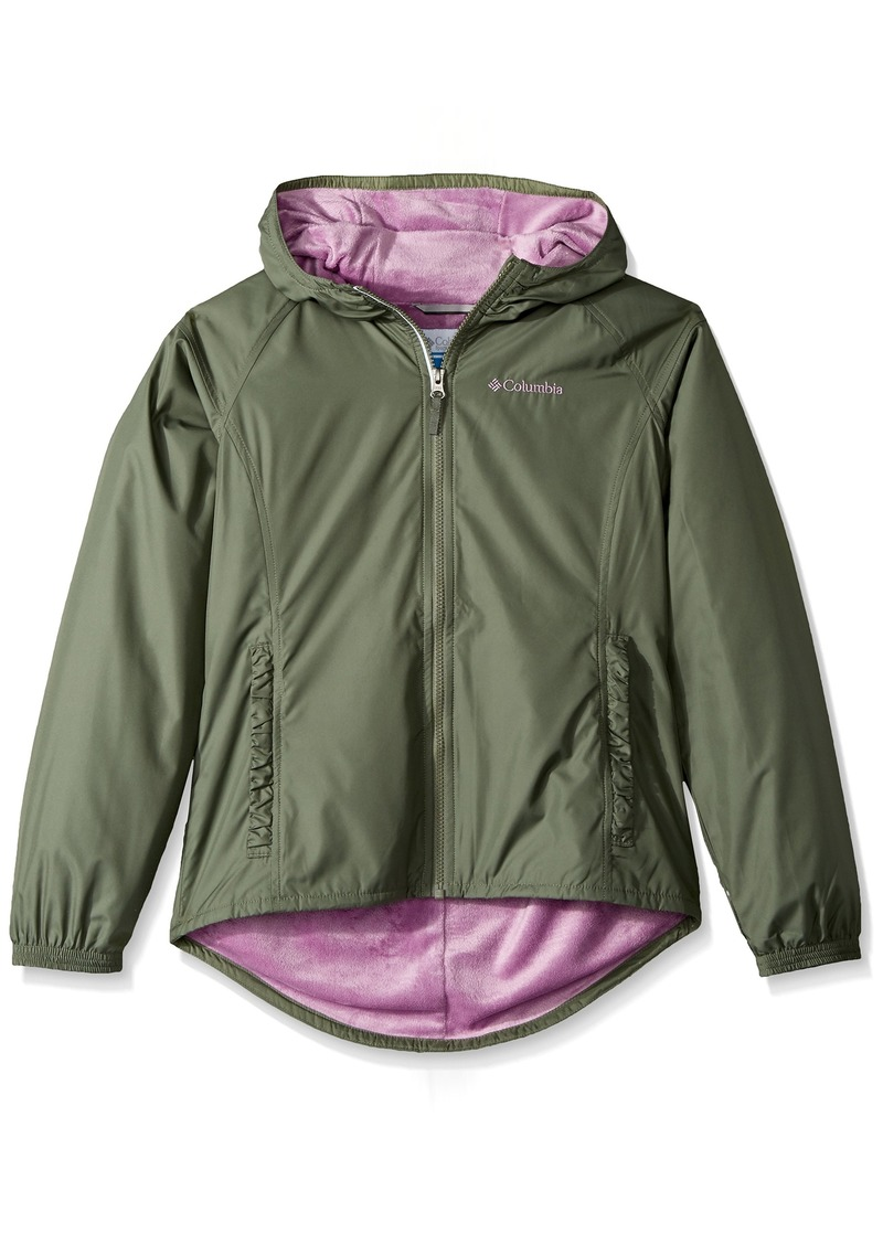 2c2430645 Columbia Columbia Girls  Little Ethan Pond Jacket Cypress Violet ...