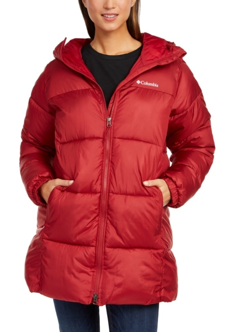 Columbia Women's Hooded Puffect Coat
