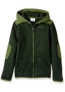 Columbia Boys' Little Birch Woods Ii Full Zip Fleece Jacket Deep Heather