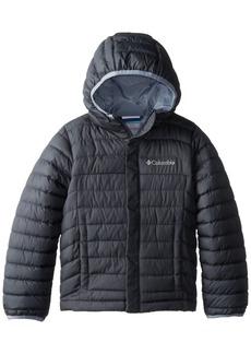 Columbia Little Boys' Powder Lite Puffer Jacket Gray XS
