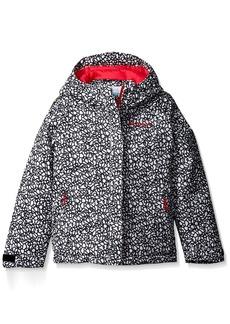 Columbia Little Girls' Toddler Horizon Ride Jacket White Print