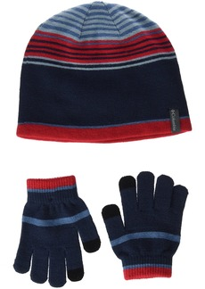 Columbia Little Girls Youth Hat and Glove Set
