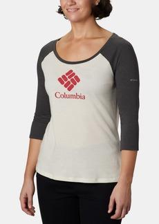 Columbia Women's Lodge 3/4-Sleeve T-Shirt