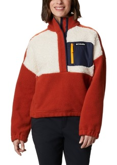 Columbia Women's Lodge Pullover Fleece Jacket