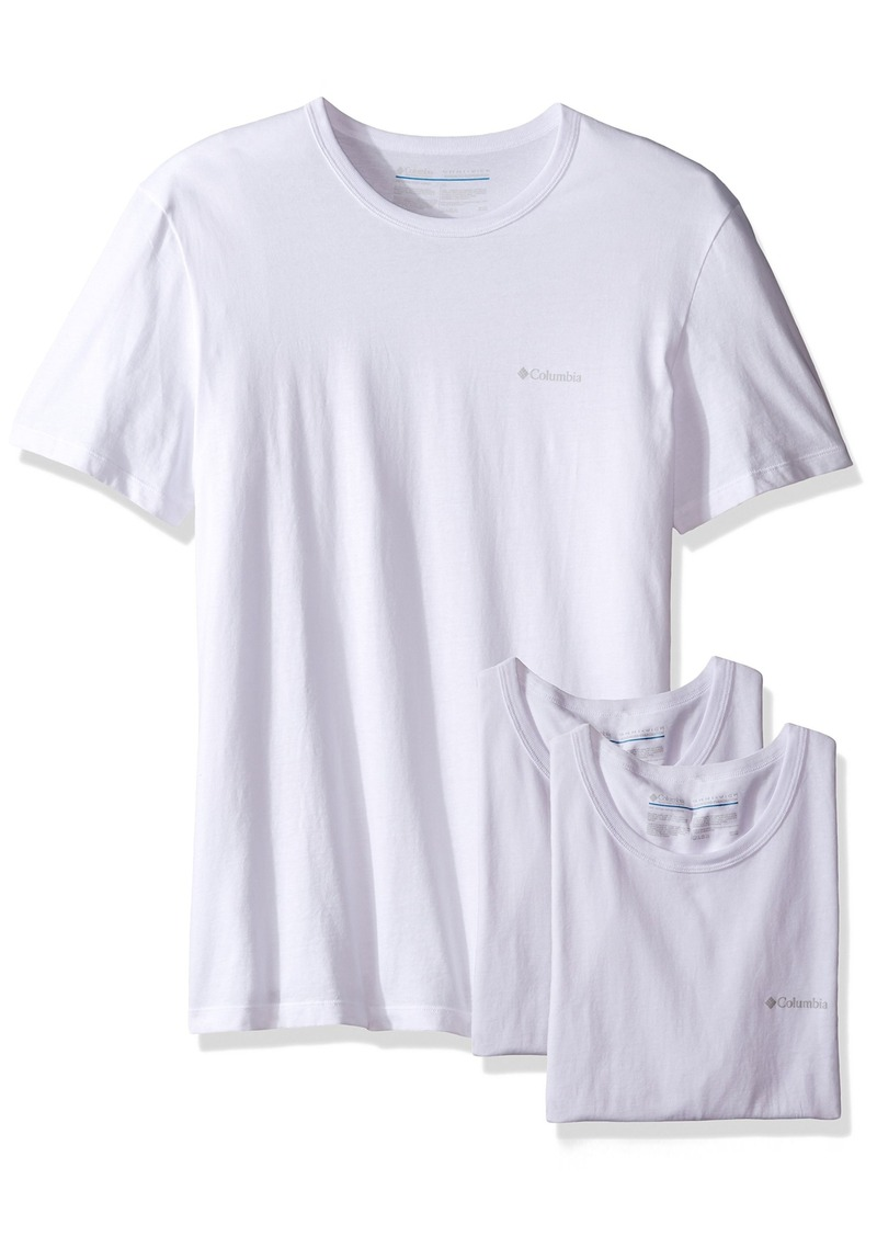 Columbia Columbia Men S 3 Pack Cotton Crew Neck T Shirt