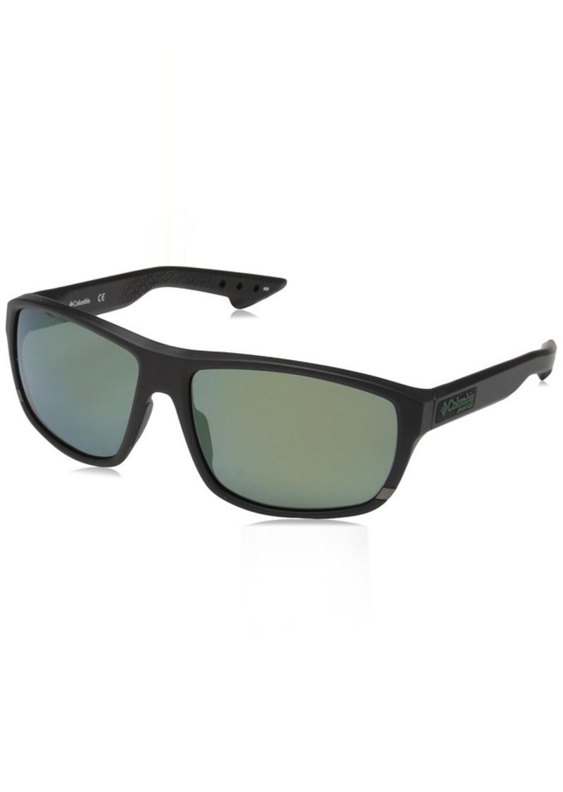 Columbia Men's Airgill Lite Polarized Oval Sunglasses  60 mm