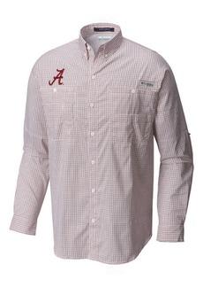 Columbia Men's Alabama Crimson Tide Super Tamiami Long Sleeve Shirt