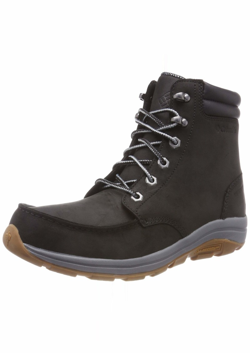 Columbia Men's Bangor Boot Omni-Heat Ankle Black ti Grey Steel  Regular US