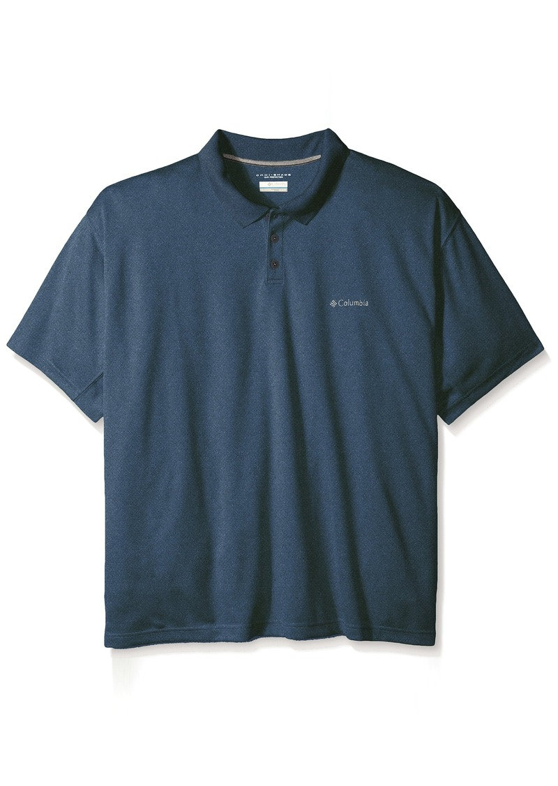Columbia columbia men 39 s big tall new utilizer polo for Big and tall polo shirts on sale