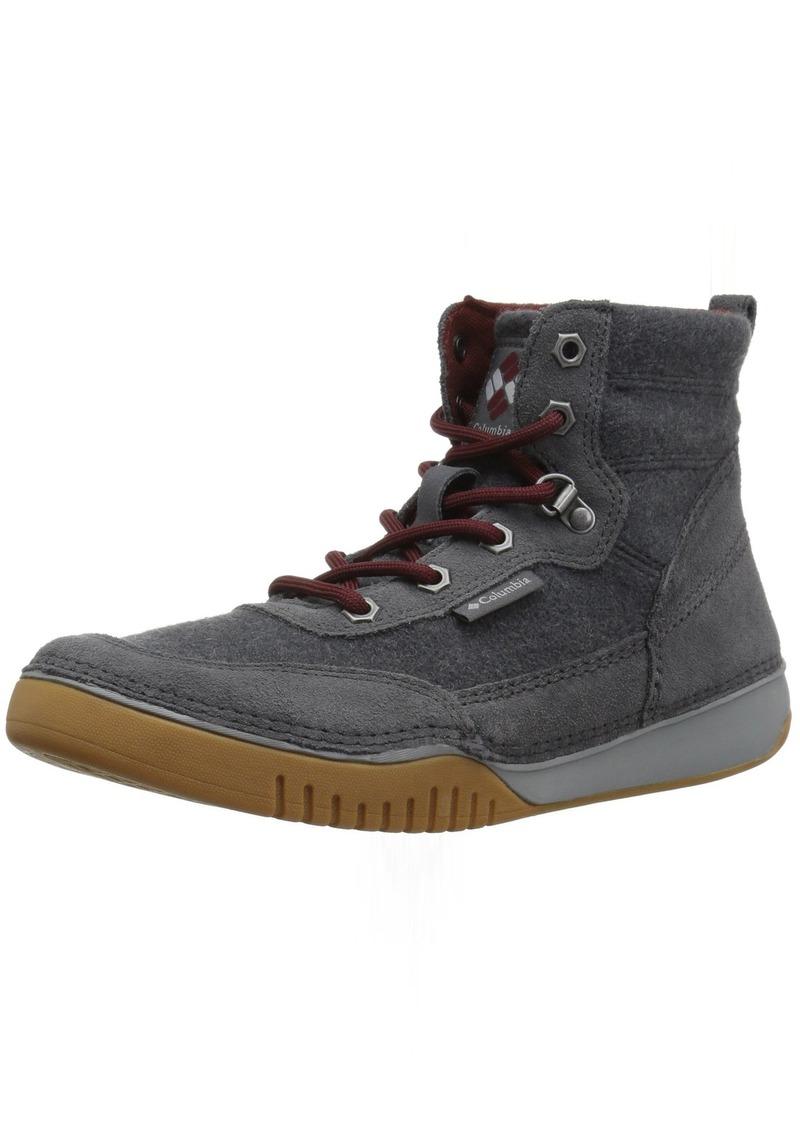 Columbia Men's Bridgeport MID Wool Hiking Shoe Graphite deep Rust  Regular US