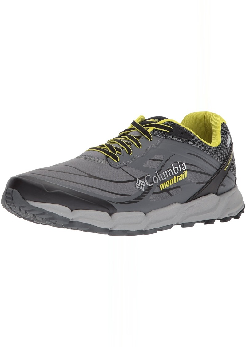 Columbia Men's CALDORADO III Outdry Trail Running Shoe ti Grey Steel Zour  D US