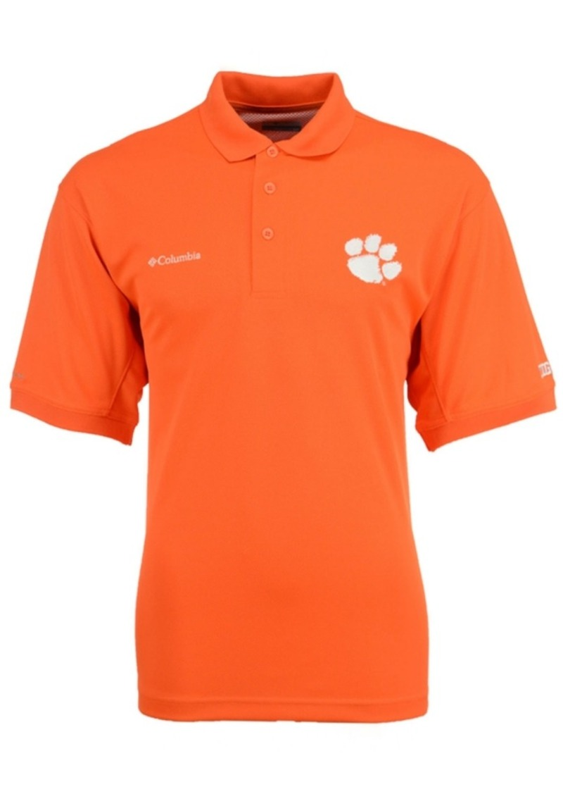 21ffac83688 Columbia Columbia Men's Clemson Tigers Collegiate Perfect Cast Polo ...