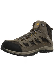 Columbia Men's Crestwood Mid Waterproof Hiking Boot  15 Wide US