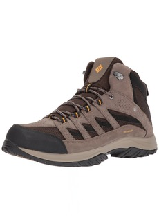 Columbia Men's Crestwood Mid Waterproof Hiking Boot Breathable High-Traction Grip
