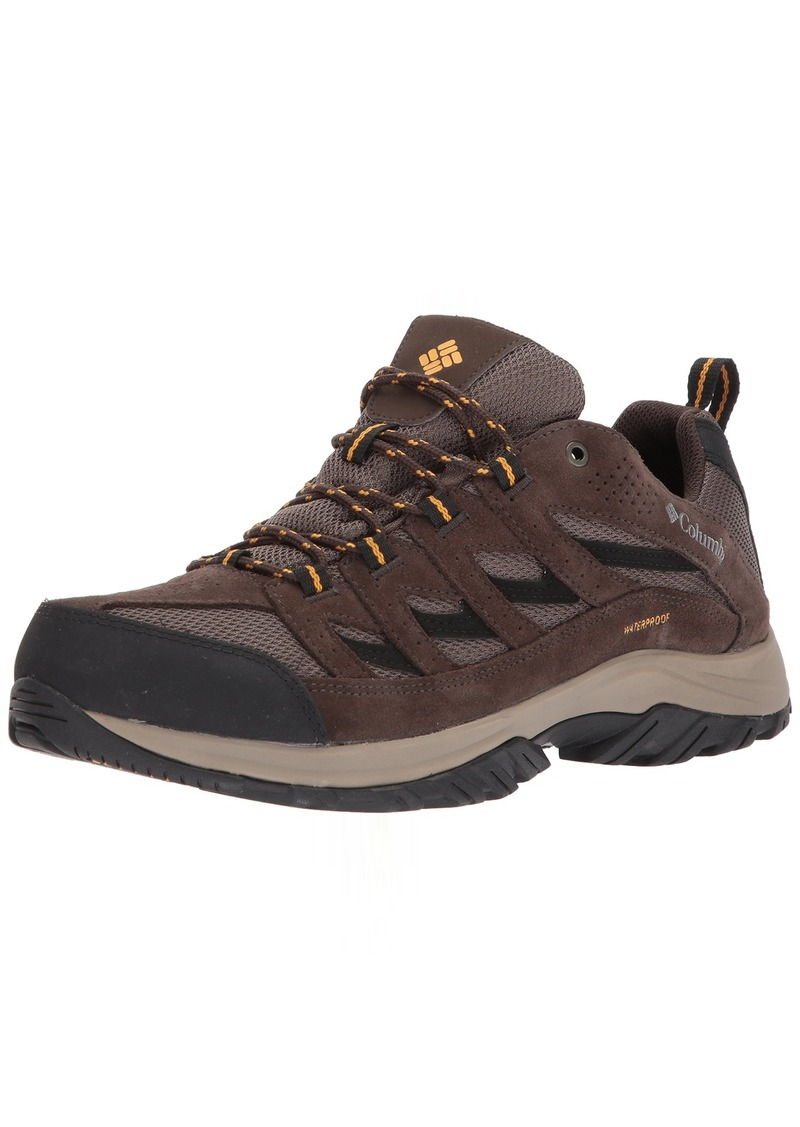 Columbia Men's CRESTWOOD WATERPROOF Hiking Boot   Regular US