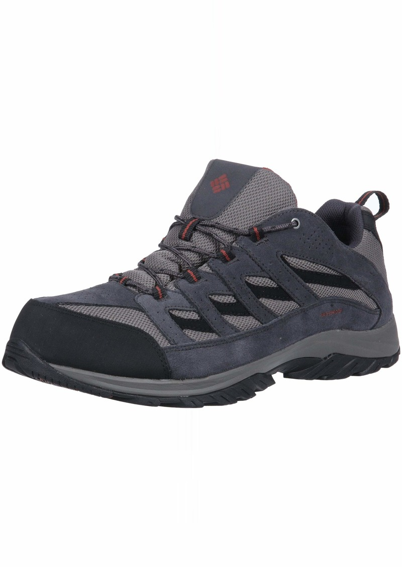 Columbia Men's Crestwood Waterproof Wide Hiking Shoe  15  Wide US