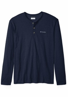 Columbia Men's Cullman Crest Big & Tall Long Sleeve Henley