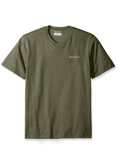 Columbia Men's Cullman Crest V-Neck Short Sleeve Shirt